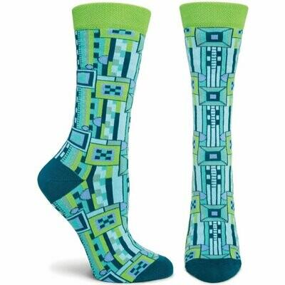 FLW Womens Saguaro 2 - Blue - Ozone Socks