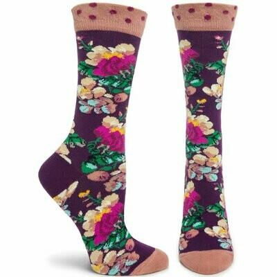 Lotus - Violet - Ozone Socks