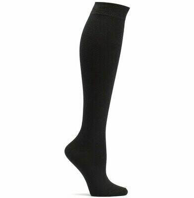 Mid Knee Black Ozone Socks