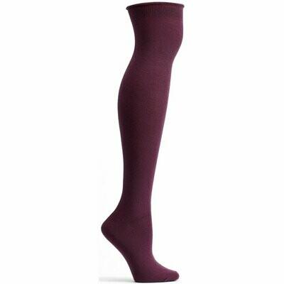 Knee High Eggplant Ozone Socks