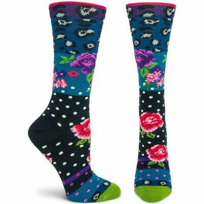 Pinky Green Ozone Socks