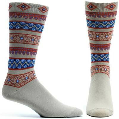 Sultan Stripes Beige Ozone Socks