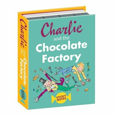 SALE: UPG Charlie and the Chocolate Factory Sticky Notes - org. $6.99