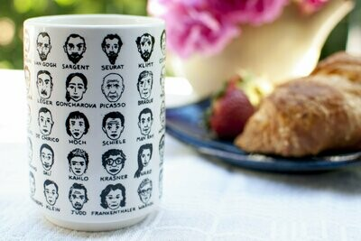 UPG It's Hard to Get a Handle On: Modern Art Mug