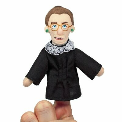 UPG Ruth Bader Ginsburg Magnetic Personality Finger Puppet