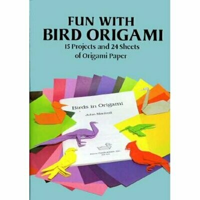 Fun with Bird Origami Paper & Projects