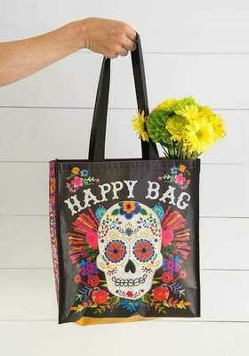NL 110 Sugar Skull Lrg Recycled Gift Bag