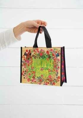 NL 3 Bird Happy Bag Med Recycled Gift Bag