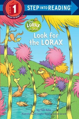 Look For The Lorax - Step 1