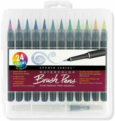 PPP Watercolor Brush Pens SO/24 - Studio Series