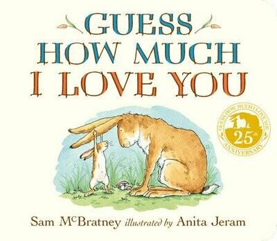 Guess How Much I love You 25 anniv. - Board Book