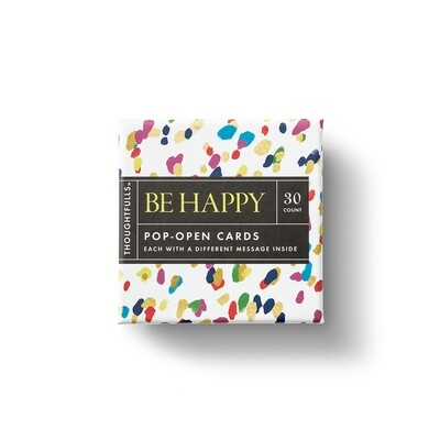 Be Happy - Pop-Open Cards - Thoughtfulls