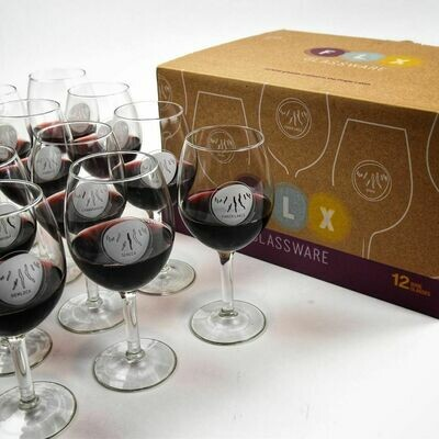 Fingerlakes Stem SO/12 Wine Glasses - FLX Glassware