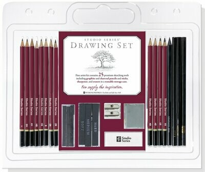 PPP Studio Series Drawing Set - Black