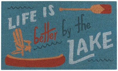 Lake Life Doormat