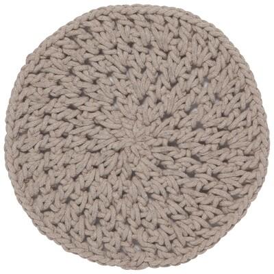 Grey Knotted Trivet