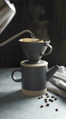 Matte Black Pour Over Coffee Set
