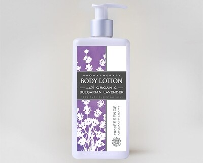 Bulgarian Lavender Organic Body Lotion - 13oz