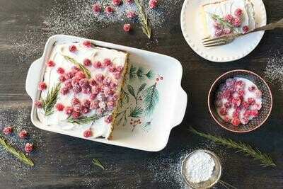Bough and Berry Baking Dish