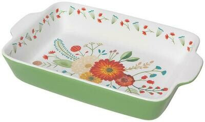 /BOX/ Golden Bloom Baking Dish