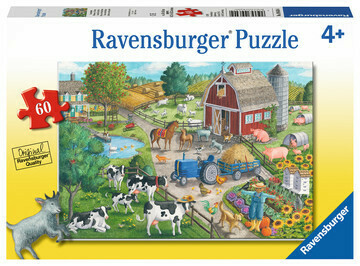 09640 Home on the Range 60pc Puzzle