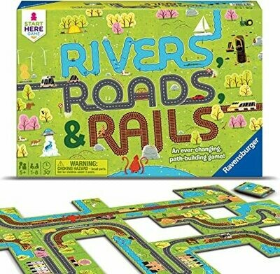 Rivers, Roads, and Rails Game