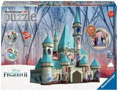 11156 Frozen 2: Castle 216pc 3D Puzzle - Ravensburger