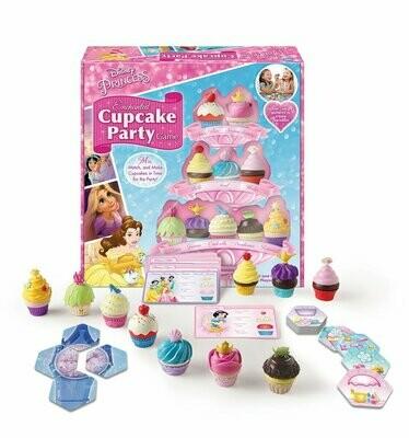 Disney Princess Enchanted Cupcake Party Game - Ravensburger