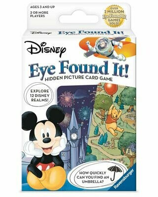 Disney Eye Found It! Hidden Picture Card Game