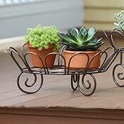Serrv Iron Low Plant Stand - 34713
