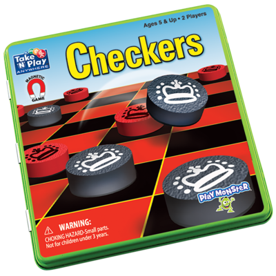 Take N Play Magnetic Checkers