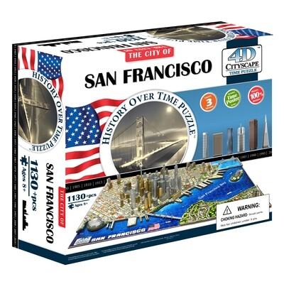 4D San Francisco Cityscape 1130pc Puzzle