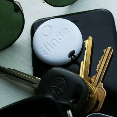Mila Key Finder - White