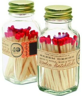 Antique Mini Match Bottle