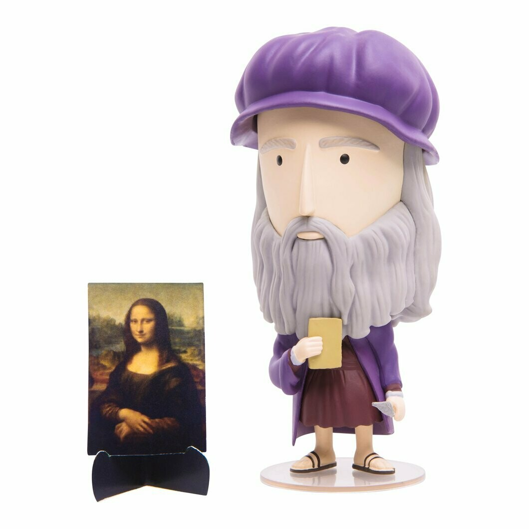 SALE: Leonardo da Vinci - Art History Hero - org. $35.00
