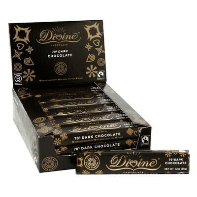 Divine Dark Chocolate 1.2oz - Fair Trade