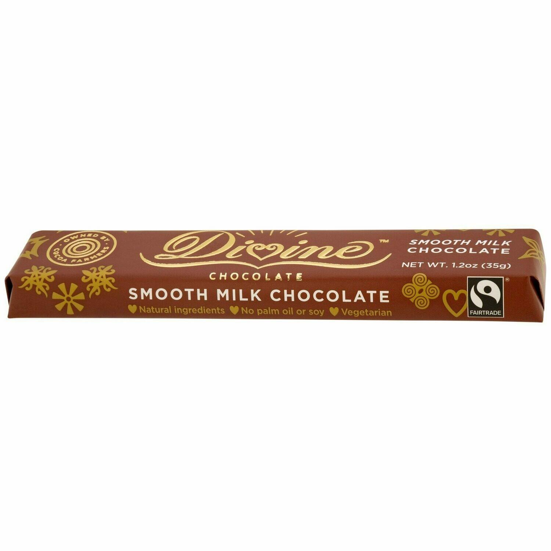 Divine Milk Chocolate 1.2oz - Fair Trade