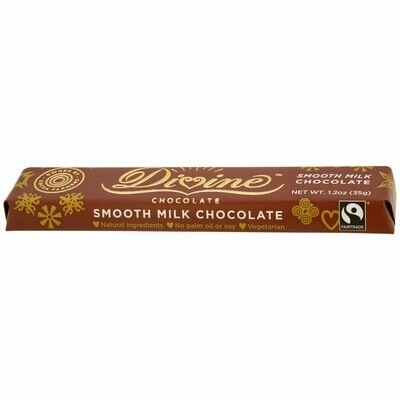 Divine Milk Chocolate 1.2oz - Fair Trade
