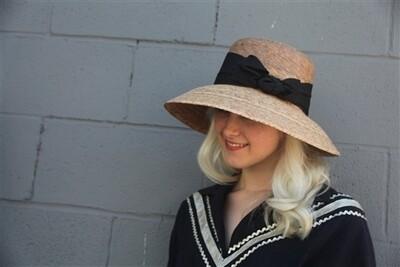 Tula Hat Somerset Black Bow One Size w/ SSB