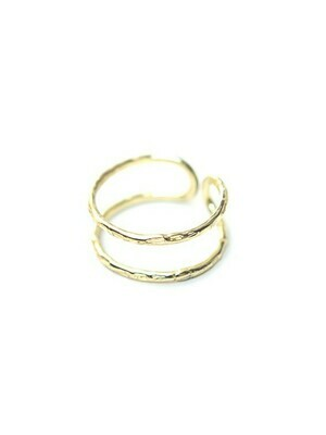 Fair Anita Illusion Ring Brass