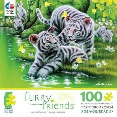 Furry Friends Asst. 100pc Puzzle