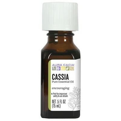 Essential Oil Cassia Bark .5oz