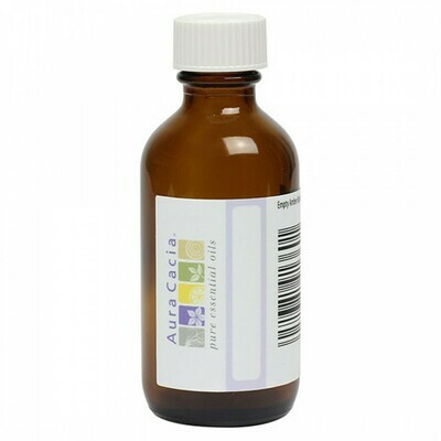 Aura Cacia Amber Bottle - 2oz