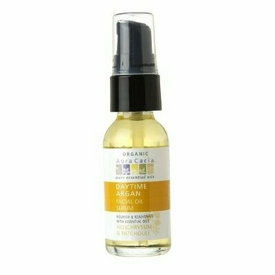 Daytime Argan Facial Oil Serum Helichrysum and Patchouli