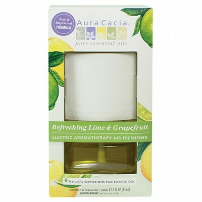 SALE: Aura Cacia Electric Diffuser Lime & Grapefruit - org. $14.99