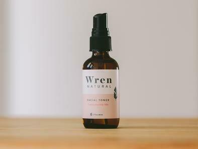 SALE: Wren Natural Facial Toner Combination/Oily Skin - org. $22