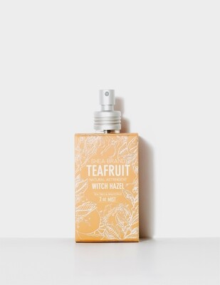 SALE: Shea Brand Teafruit Witch Hazel - org. $24