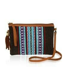 Serrv Convertible Crossbody Clutch - Cocoa - 18198