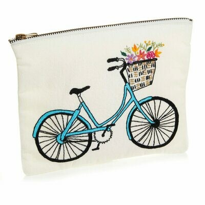 Serrv Med Bicycle Zipper Pouch - 32479