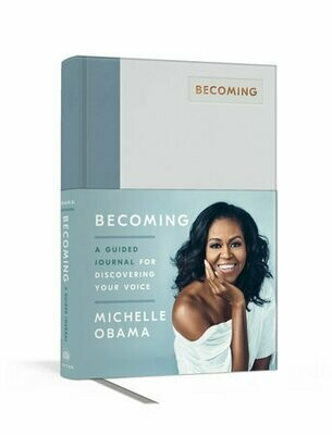 Becoming A Guided Journal - M.Obama